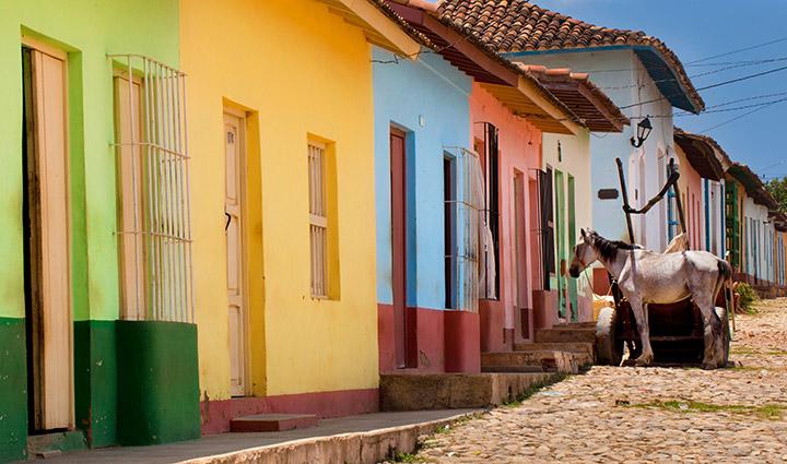 Cuba dorp Trinidad