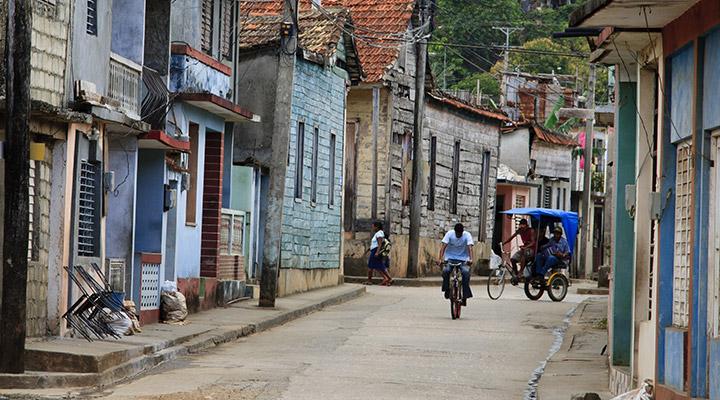 Dorp in Cuba