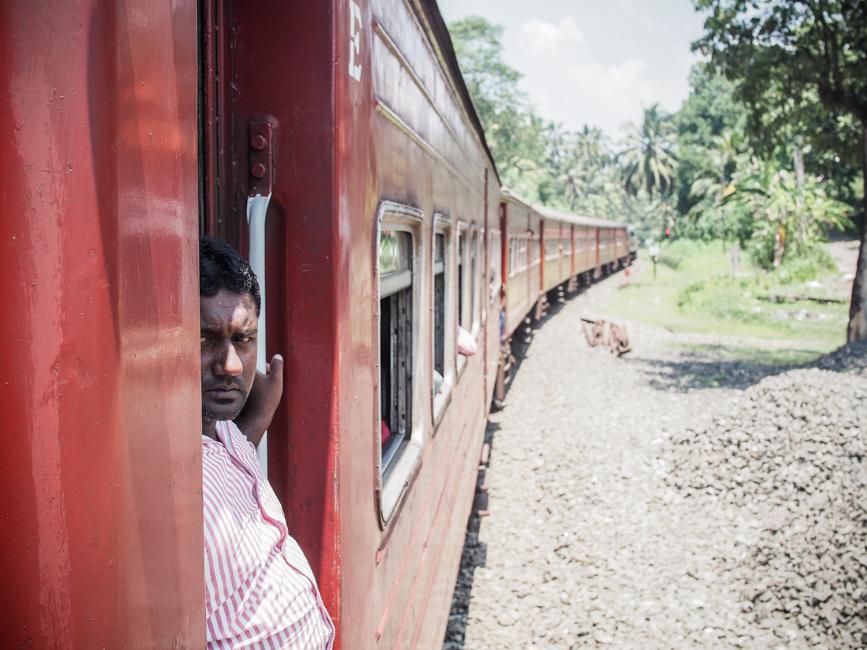 Wat te doen in Sri Lanka - treinrit
