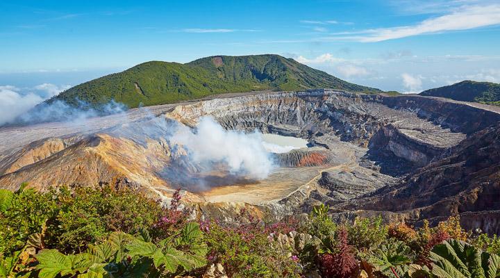 Vulkaan Costa Rica