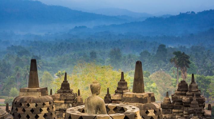 Indonesie Borobudur tempel