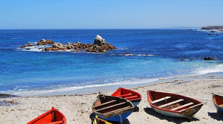 Strand Zuid Afrika