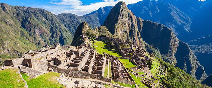 Uitzicht Machu Picchu