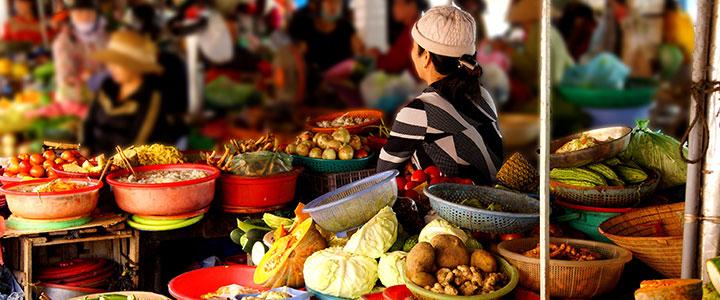 Fruit markt Vietnam