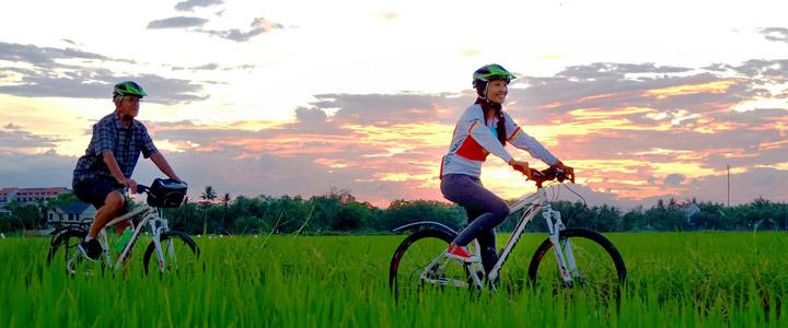 Hoi An fietsen