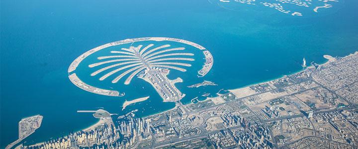 Dubai Palm eiland