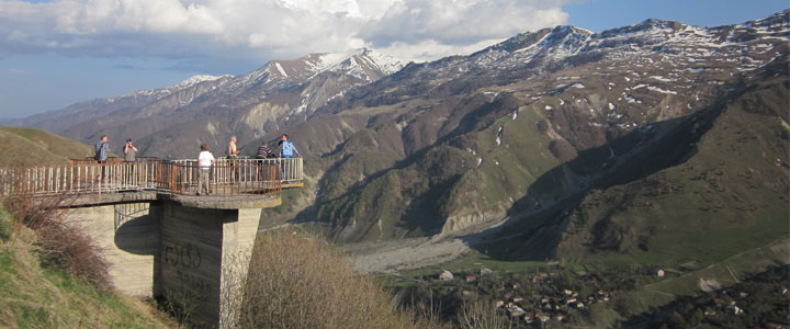 Nationaal park Kazbegi