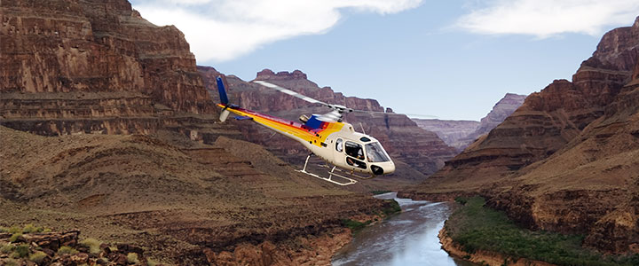 Grand Canyon helikopter vlucht