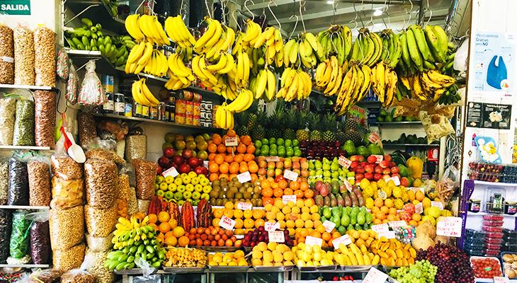 Fruit-markt-Peru