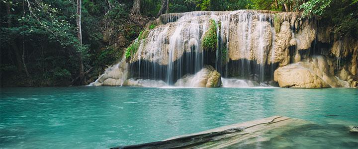 Erawan waterval