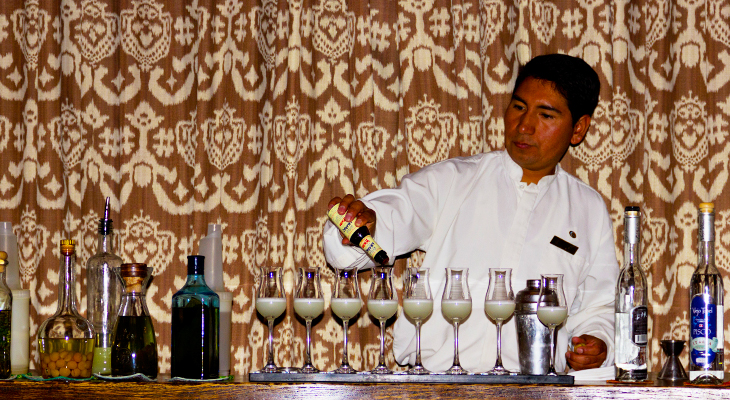 barman in Peru