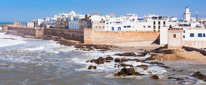 Essaouira familiereis Marokko
