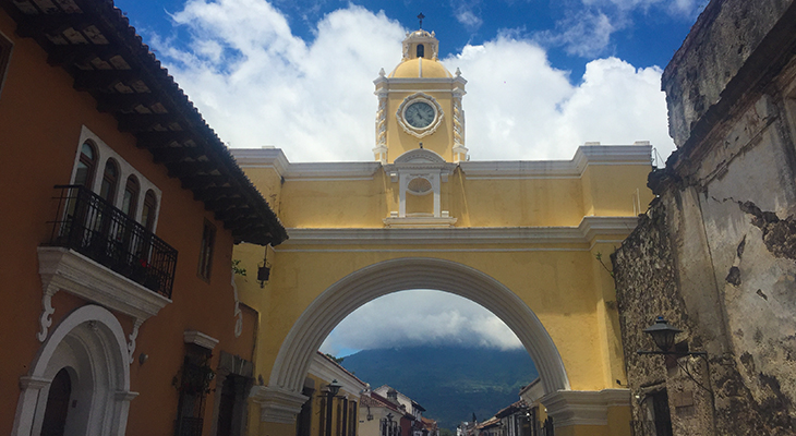 stad antigue in Guatemala