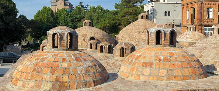 Warmwaterbronnen in Tbilisi