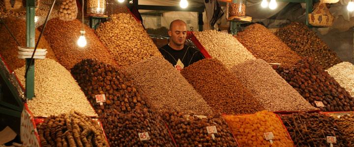Markt Souq familiereis Marokko
