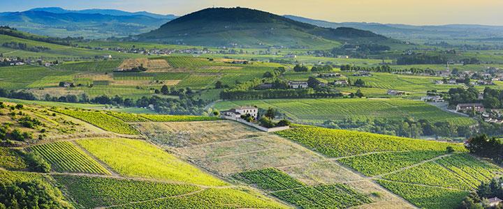 Landschap Frankrijk