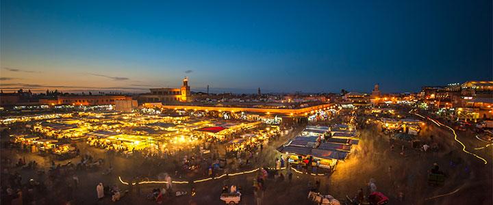 Marrakech familiereis Marokko