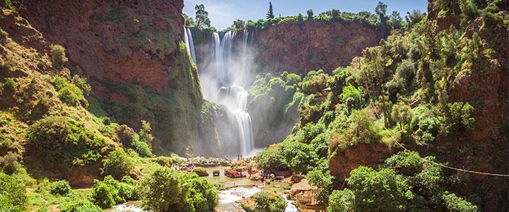 Watervallen van Ouzoud familiereis Marokko