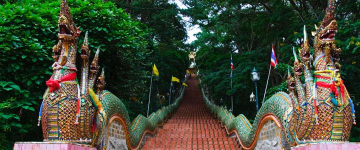 Thailand drakentrap