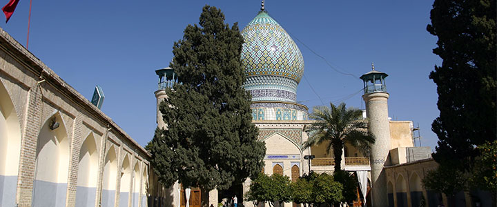 De tombe van Shah-e-Cheragh