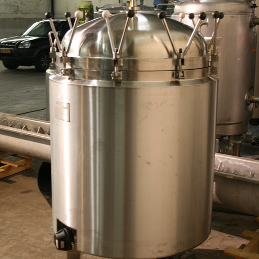 Rvs tank 1000 liter