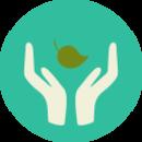 Location holistic icon
