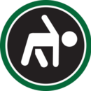 Location icon stay healthy