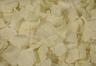 Pétalos de hortensia de color blanco