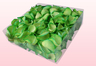 2 Liter Verpakking Met Gevriesdroogde Rozenblaadjes In De Kleur Groen