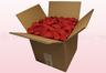 Confezione da 8 litri con petali di rosa stabilizzata di colore rosso.