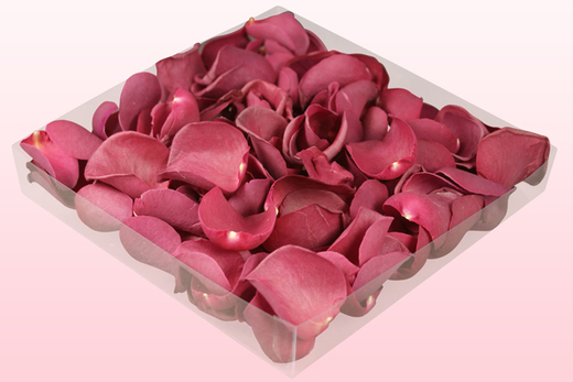 1 litre Box With Mulberry Freeze Dried Rose Petals