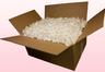 Boîte de 24 litres pétales de roses conservés couleur blanc