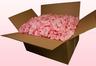 Confezione da 24 litri con petali di rosa stabilizzata di colore rosa chiaro.