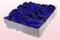 2 Liter Doos Geconserveerde Rozenblaadjes In De Kleur Donkerblauw