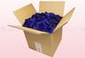 8 Liter Doos Met Geconserveerde Donkerblauwe Rozenblaadjes