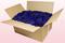 24 Litre box With Preserved Dark Blue Rose Petals