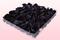 Emballage 1 litre pétales de roses conservés couleur noir