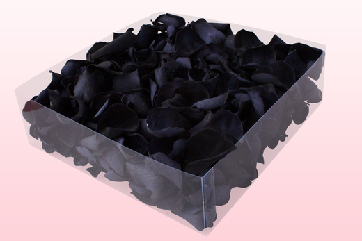 2 Litre Box Of Preserved Black Rose Petals