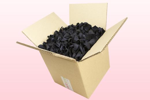 Boîte de 8 litres pétales de roses conservés couleur noir