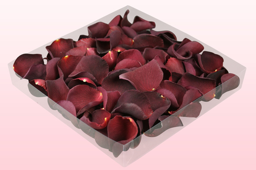 1 litre Box Burgundy Freeze Dried Rose Petals