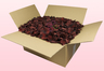 24 Litre box With Preserved Chocolate Coloured Rose Petals