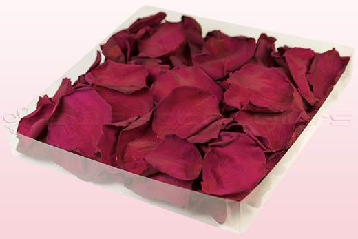 1 Litre Box Of Preserved Cerise Pink Rose Petals