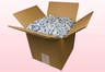 8 Liter Karton Mit Hellblaue Gefriergetrocknete Hortensienblätter