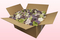 Confezione da 24 litri con petali di ortensia economici di colore assortito