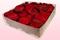 2 Liter Doos Geconserveerde Rozenblaadjes In De Kleur Donkerrood