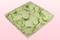 1 Liter Doos Met Groene Geconserveerde Rozenblaadjes