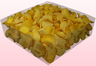 2 Litre Box With Freeze Dried Light Yellow Rose Petals