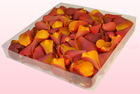 Final check freeze dried rose petals  1 litre box  burnt orange  sweet colours