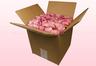 8 Liter Doos Met Gevriesdroogde Rozenblaadjes In De Kleur Baby Roze