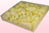 1 Litre Box With Freeze Dried Off White Rose Petals